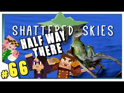 Minecraft: Shattered Skies - #66 - Half Way There (FTB Skyblock)