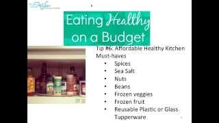 Surviving and Thriving  Eating Healthy Without Breaking the Bank