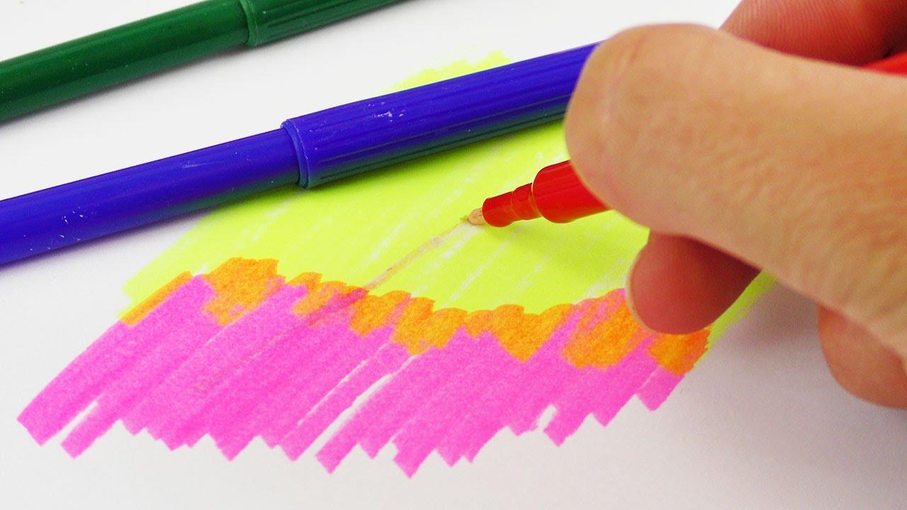 diy zauberstifte selber machen magic pen ver ndert die farben zum malen gestalten schule. Black Bedroom Furniture Sets. Home Design Ideas