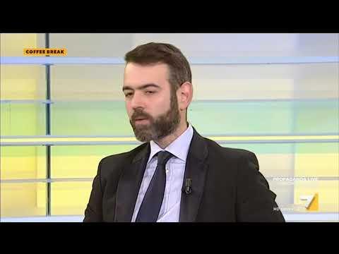 Sardine, scontro tra Francesco Borgonovo e David Parenzo: 'Perché ridi? Sei razzista e ...