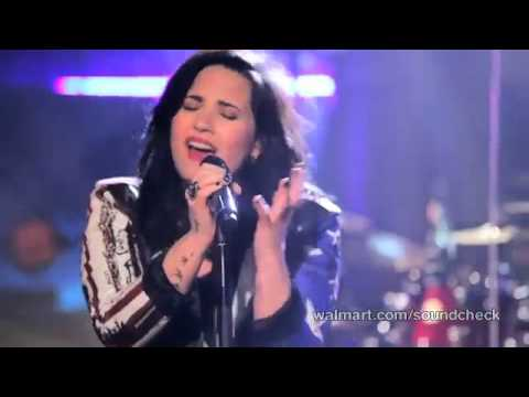 Demi Lovato  My Love is Like a Star Walmart Soundcheck