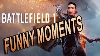 Battlefield 1 Funny Moments   NGƯỜI LÍNH CẢM TỬ NHẤT THẾ GIỚI