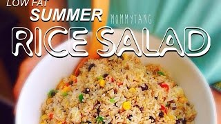 """no Fried"" Asian Flavored Rice & Quinoa Salad Recipe #hclf"