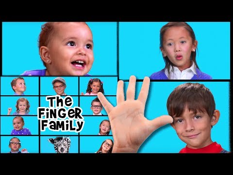 The Finger Family Song | Finger Family | Nursery Rhymes | Kids Songs | Baby Songs | Family Finger
