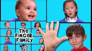 Repeat youtube video The Finger Family Song | Finger Family | Nursery Rhymes | Kids Songs | Baby Songs | Family Finger
