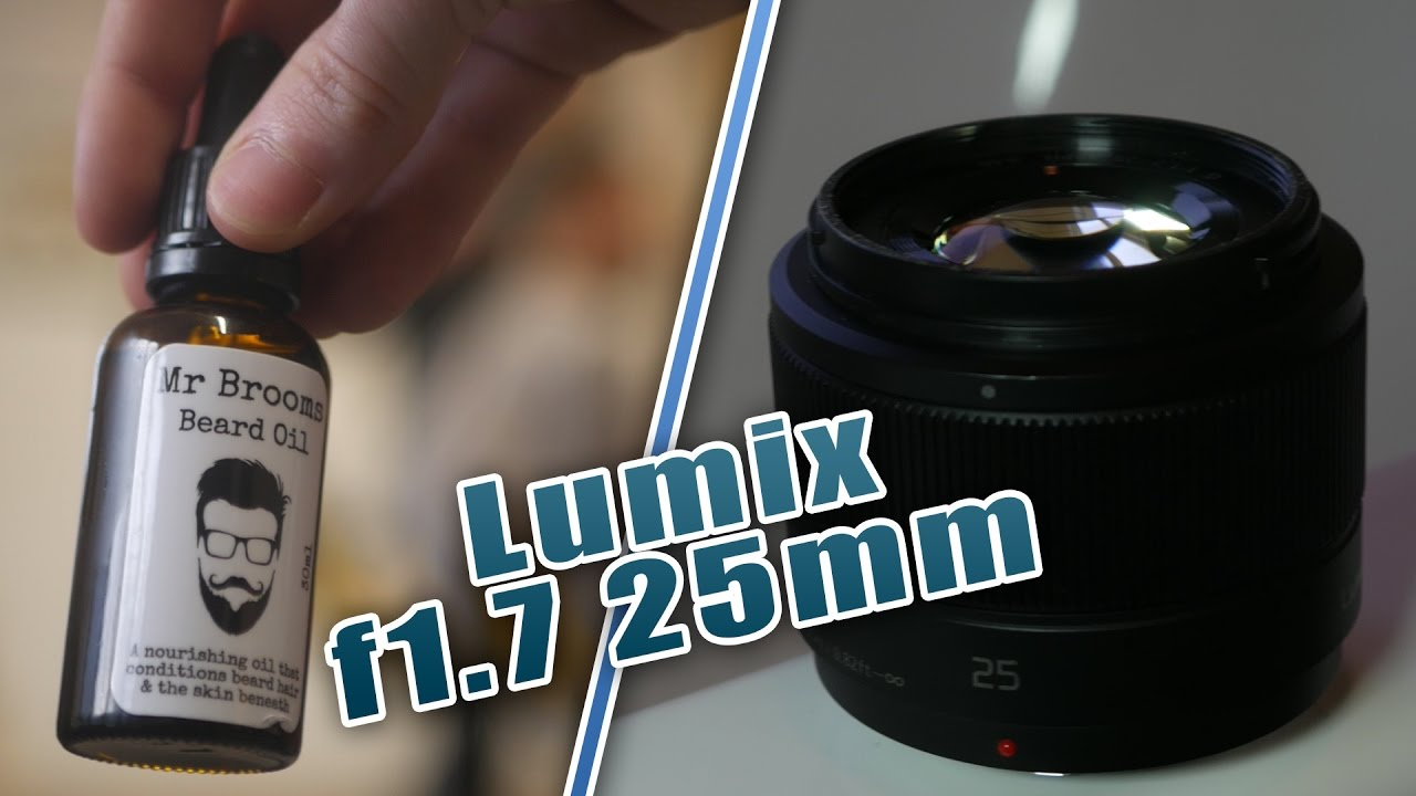 Lumix G f1.7 25mm Review - Best Promotional Video Lens? - YouTube