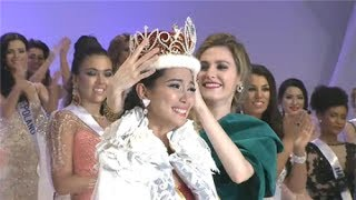 Winning Speech of Miss International 2013 Bea Rose Santiago Question & Answer Portion