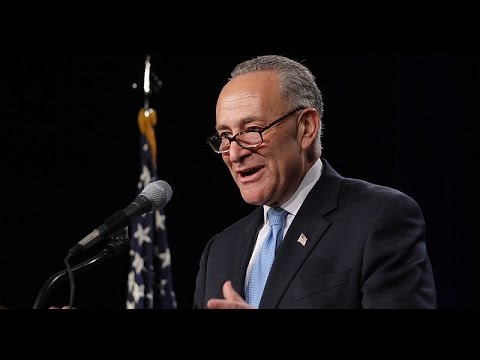 Chuck Schumer just told 'incompetent' Donald Trump to act like 'a real president'
