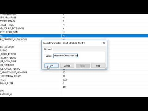 CIMPLICITY Training: Configuring Global Scripts, Part 1