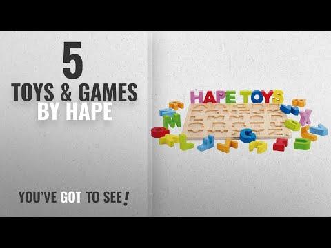 Top 10 Hape Toys Games 2018 Hape Alphabet Stand Up Kids Wooden