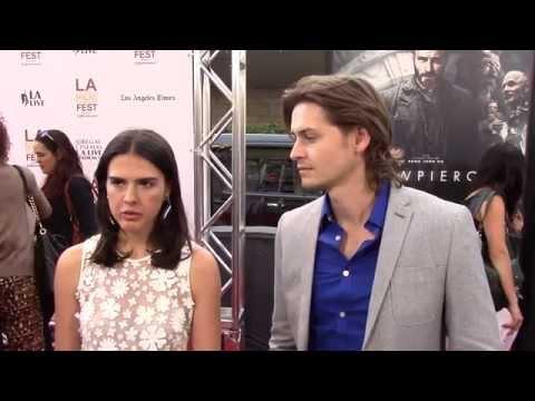 2014 LA Film Festival  Carpet Chat with Lara Vosburgh & Morgan McClellan
