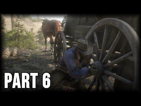 Red Dead Redemption 2 - 100% Walkthrough Part 6 [PS4] – Eastward Bound (Gold Medal)