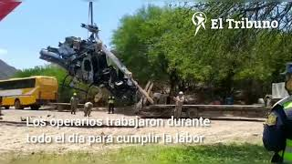 Muerte de Jorge Brito: sacaron del río los restos del helicóptero tras 8 horas de trabajo