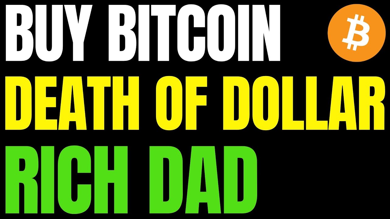 The U.S. Dollar is Dying, 'Buy Bitcoin' Rich Dad Poor Dad Author | John McAfee Calls BTC 'Worthless' 23