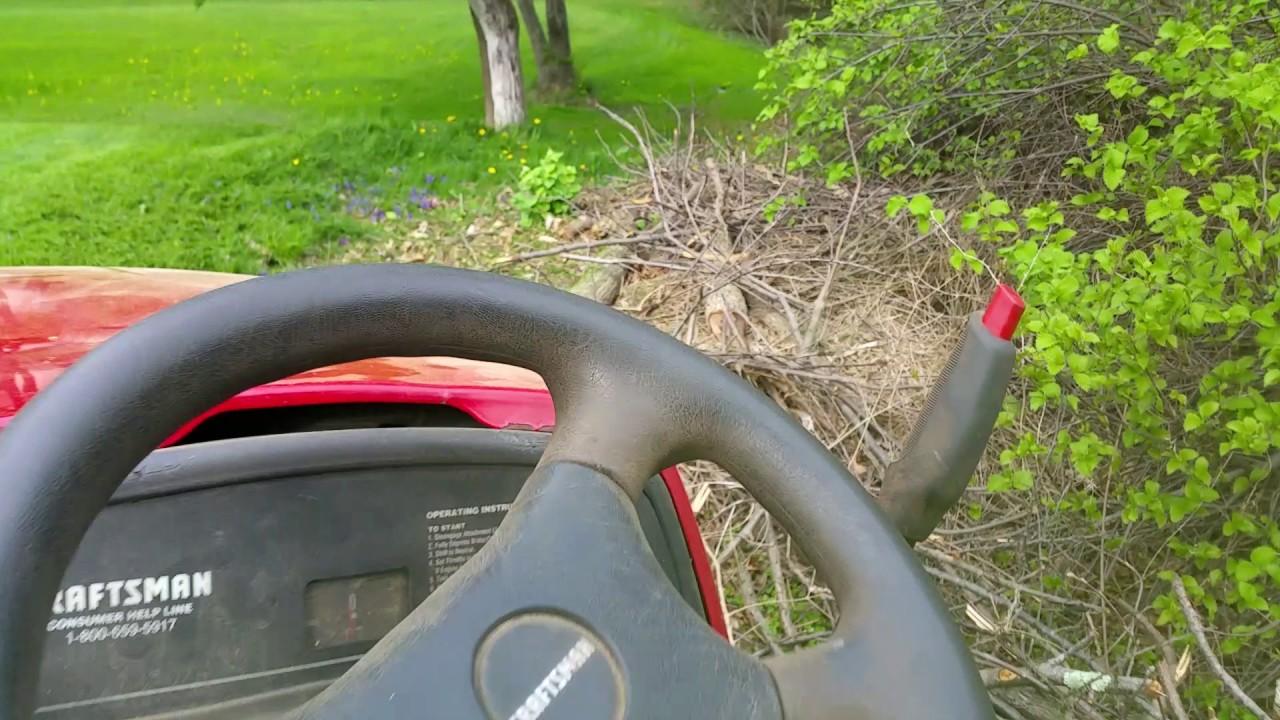 Craftsman Gt5000 Garden Tractor 27hp
