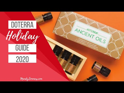 DoTERRA Holiday Guide 2020 - DoTERRA Catalogue