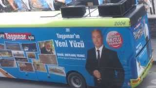 AKP Aksaray Seçim Otobüsü dombıra