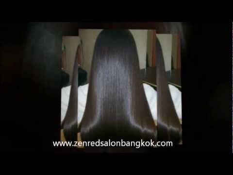 Chemical Hair Straightening Bangkok - ZENRED Brazilian Keratin Hair Salon Bangkok Thailand