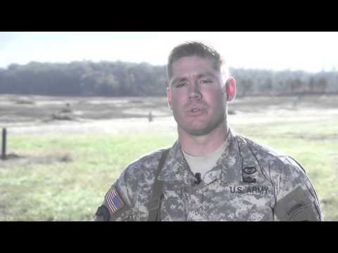 Staff Sgt. Andrew Fink speaks about the 2015 Army best warrior competition.
