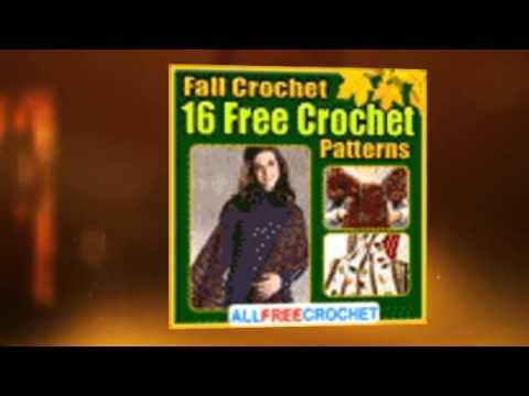 Fall Crochet 16 Free Crochet Patterns Ebook Youtube