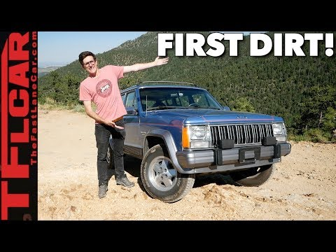 First Dirt! Our Cheap Jeep Cherokee Tackles Gold Mine Hill - Difflock Season 2 Ep 2