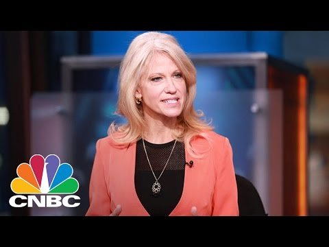 Donald Trump Adds Kellyanne Conway As Presidential Counselor | Squawk Box | CNBC
