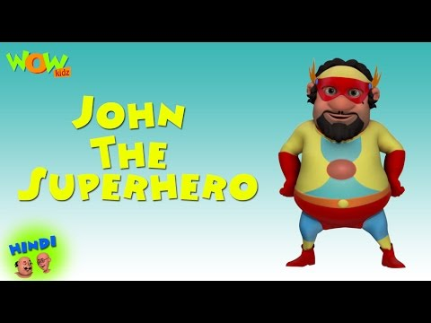John The Superhero - Motu Patlu in Hindi WITH ENGLISH, SPANISH & FRENCH SUBTITLES thumbnail