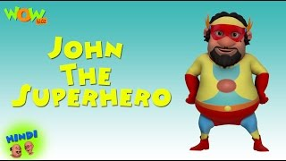 John The Superhero - Motu Patlu in Hindi WITH ENGLISH, SPANISH & FRENCH SUBTITLES