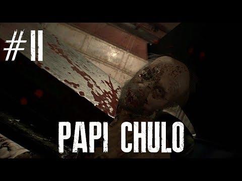 "RESIDENT EVIL VII +18  GAMEPLAY A TODA OSTIA  En castellano  2 ""Papi chulo"""
