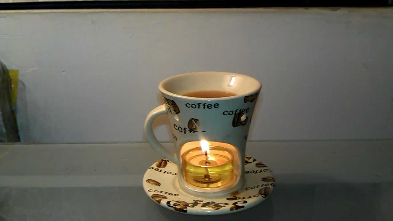 Review of Coffee Cup Tart Burner