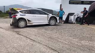 Test day-M-Sport Ford Fiesta wrc Greece 2018 - Elfyn Evans