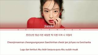 ( SUB INDO )JENNIE (BLACKPINK) - 'SOLO' Lyrics [Color Coded_Han_Rom_Ind]