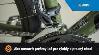 Ako nastaviť prešmykač pre rýchly a presný chod  | SERVIS - MTBIKER.SK