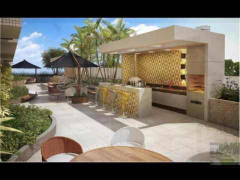 Ideas y trucos para tu hogar quinchos peque os youtube Decoracion de patios pequenos con pileta