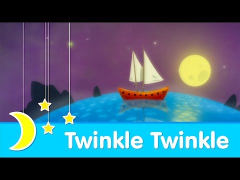 Twinkle Twinkle Little Star | Bedtime Lullaby | Piano Music | Super Simple Songs