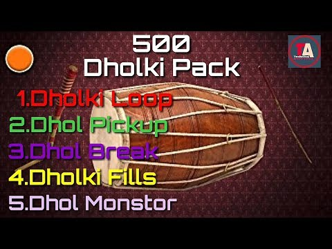 Download Free 500 Dholki Beat | Beat, Fill, Loops, Break All [No Paasword]