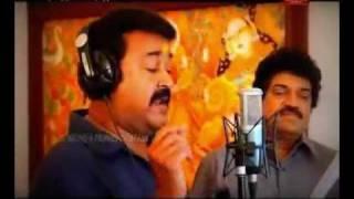 "Rajeev alunkal,M.G.Sreekumae,Mohanlal Team ""Ayyappa thom""2011"