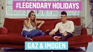 Gaz & Imgogen Talk About Their #LegendaryHolidays ✈️😂🔥
