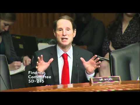 Senator Wyden and USTR head Kirk argue over transparency of IPR trade negotiations