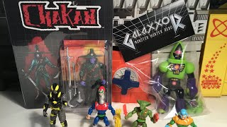 October Glyos Pickups From Toy Pizza , The Yetee , Warlords Of Wor , & Galaxxor !!!