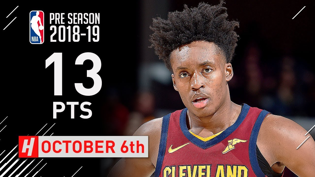 e1f05985b17 Collin Sexton Full Highlights Cavs vs Celtics 2018.10.06 - 13 Points in 1st  Half!