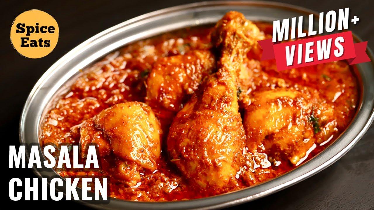 Download MASALA CHICKEN | CHICKEN MASALA RECIPE RESTAURANT STYLE | BHUNA CHICKEN MASALA