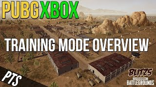 PUBG Xbox: Training Mode Overview (Now on Xbox)