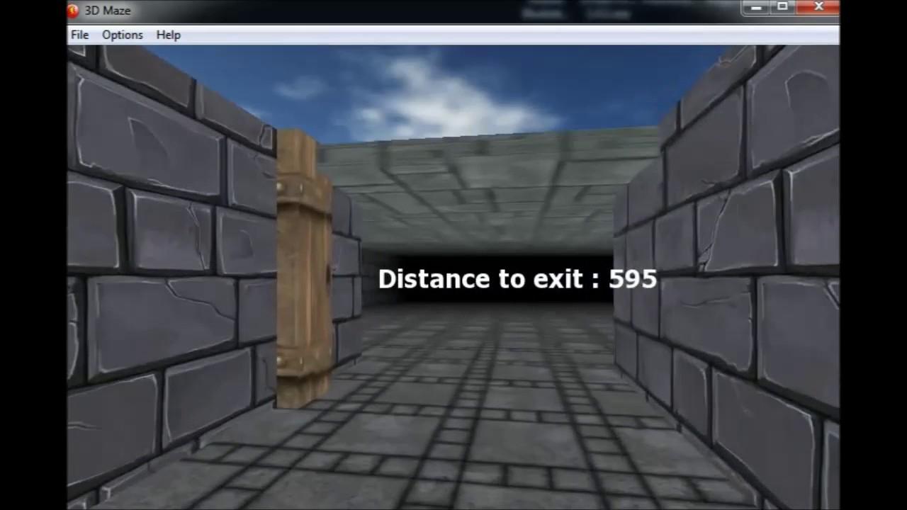 3D procedural maze with Clickteam Fusion 2 5