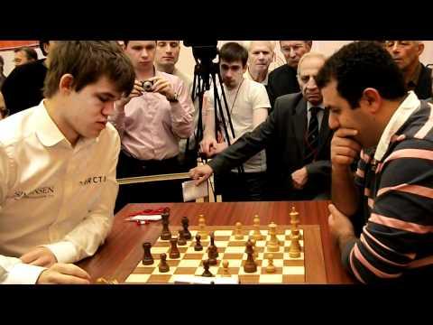 Rauf Mamedov  - Magnus Carlsen   chess Wch blitz 2010