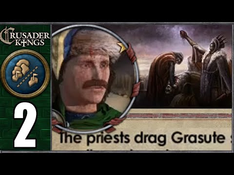Let's Play CK2: Chaos To Order #2 - Bloodthirst Begins (Series B)