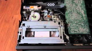 VCR VHS Player Inside View