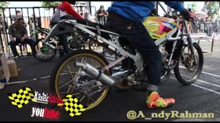 AHRS Drag Bike Championship Kelas Kawasaki Ninja 150 cc frame std AHRS  series 4 bantul 2014 FULL HD | ManiakRacing  - RacingLook