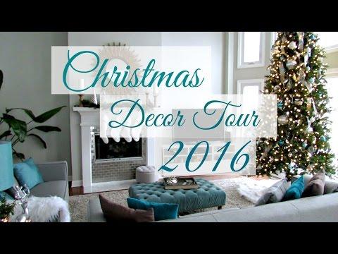Christmas Decor Home Tour 2016