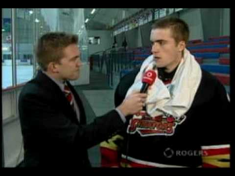 Rogers TV Player of the game-Niels-Erik Ravn -Glou...
